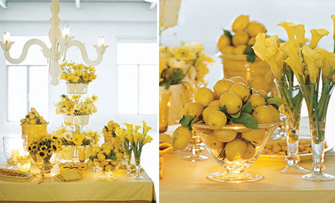 Be Creative With Lemons Divine Party Concepts
