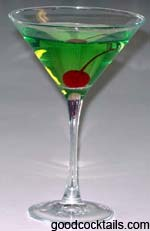 Sour Apple Martini
